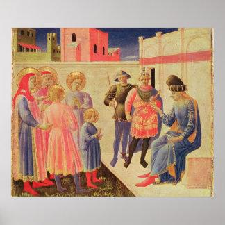 SS. Cosmas y Damián antes de Diocletian Póster