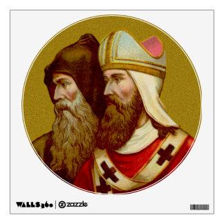 "SS. Cyril & Methodius (M 001) 12""x12"" Wall Decal"