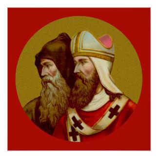 """SS. Cyril & Methodius (M 001) 20""""x20"""" Poster #1"""