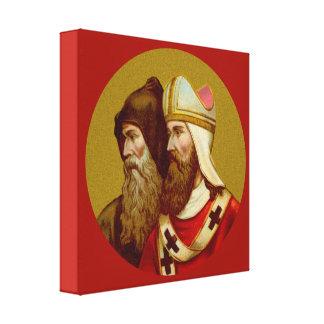 SS. Cyril & Methodius (M 001) Canvas Print
