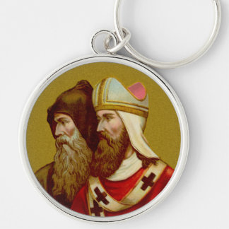SS. Cyril & Methodius (M 001) Premium Metal Keychain