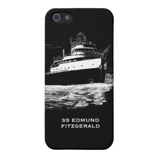 SS Edmund Fitzgerald Freighter of the Great Lakes iPhone 5/5S Case