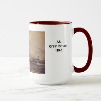SS Great Britain 1843 at anchor Mug