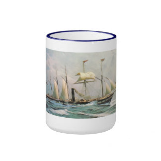 SS Great Britain 1843 Designed by Brunel Ringer Coffee Mug