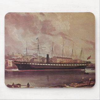 SS Great Britain 1845 at anchor Mouse Pad