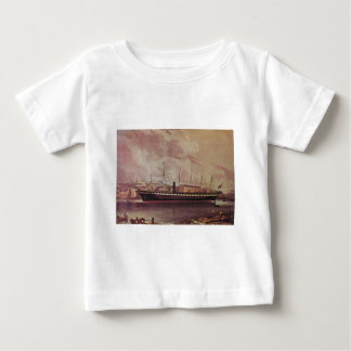 SS Great Britain in port 1845.jpg Baby T-Shirt