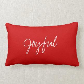 S's Joyful Heart Pillow
