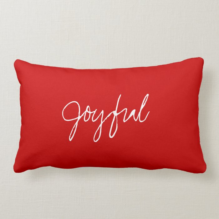 S's Joyful Heart Pillow