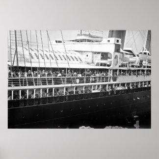 SS la ciudad de Nueva York Posters