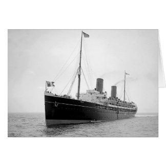 SS La Savoie Greeting Cards