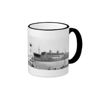SS Morro Castle Aground Ringer Coffee Mug
