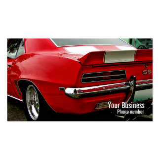 SS Muscle Double-Sided Standard Business Cards (Pack Of 100)