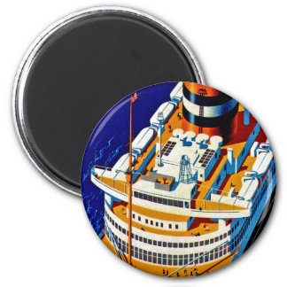 SS Nieuw Amsterdam Magnet