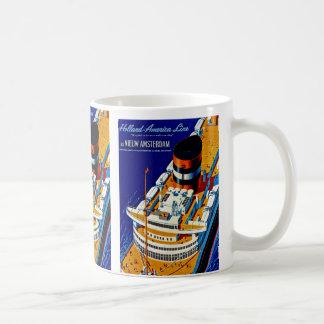SS Nieuw Amsterdam Mugs
