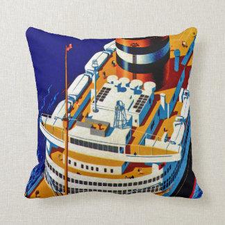SS Nieuw Amsterdam Pillow