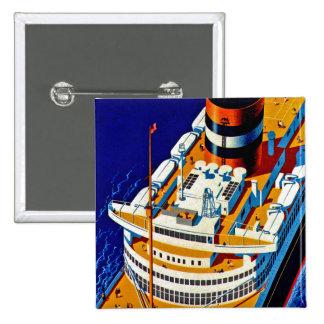 SS Nieuw Amsterdam Pin Cuadrada 5 Cm