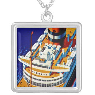 SS Nieuw Amsterdam Silver Plated Necklace
