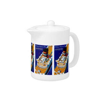 SS Nieuw Amsterdam Teapot