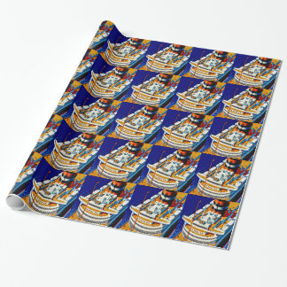SS Nieuw Amsterdam Wrapping Paper