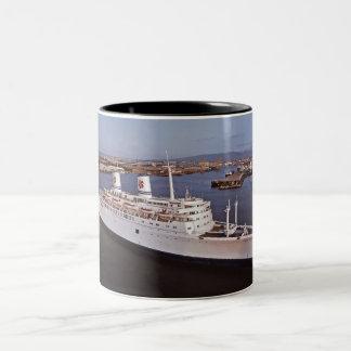 SS Oceanic Independence Two-Tone Coffee Mug