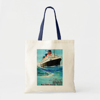 ss Paris ~ French Line Tote Bag