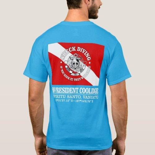 SS President Coolidge best wrecks T_Shirt