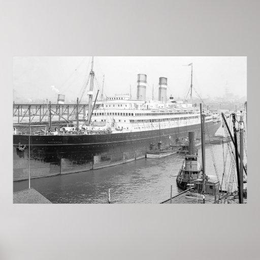 SS Rotterdam Posters