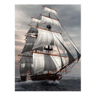 SS Savannah Postcard