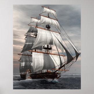 SS Savannah Print
