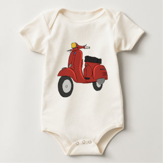 SS Scooter Baby Bodysuit