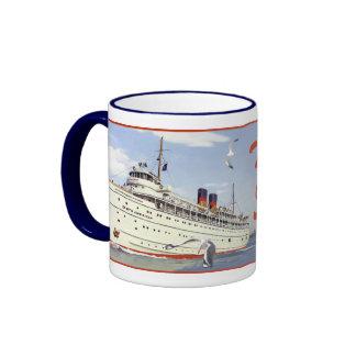 SS South American Ringer Coffee Mug