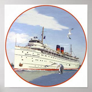 SS suramericanos Póster