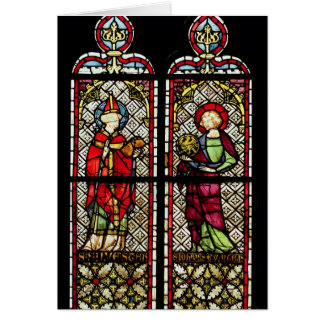 SS. Sylvester and John the Evangelist Greeting Card