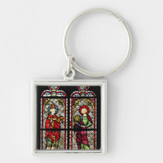 SS. Sylvester and John the Evangelist Keychain