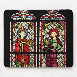 SS. Sylvester and John the Evangelist Mouse Pad