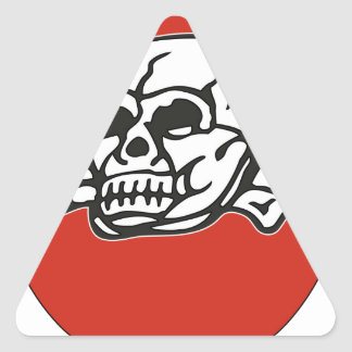 SS Totenkopf division tactical sheild patch Triangle Sticker