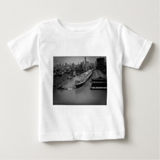 SS United States at Pier in New York City Tshirt