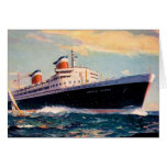 ss United States at Sea Cards