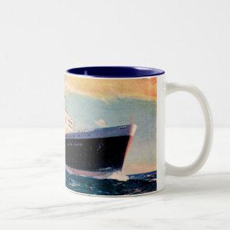 ss United States at Sea Mug