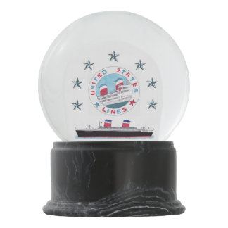 SS United States - Classic Snowglobe
