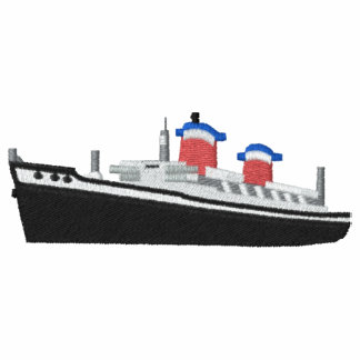SS United States Custom Embroidered Polo