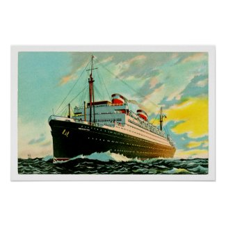 SS Washington print