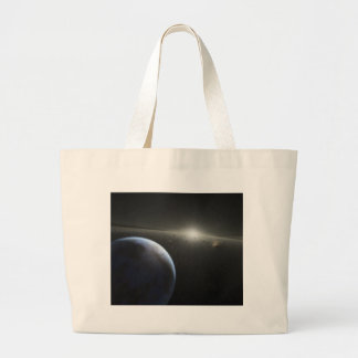 SSC2005 10c It is a Rocky World NASA Large Tote Bag
