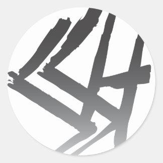 SSH Faded Logo Sticker