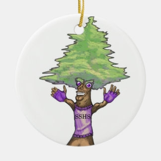 SSHS 2010 Fighting Pine Christmas Ornament