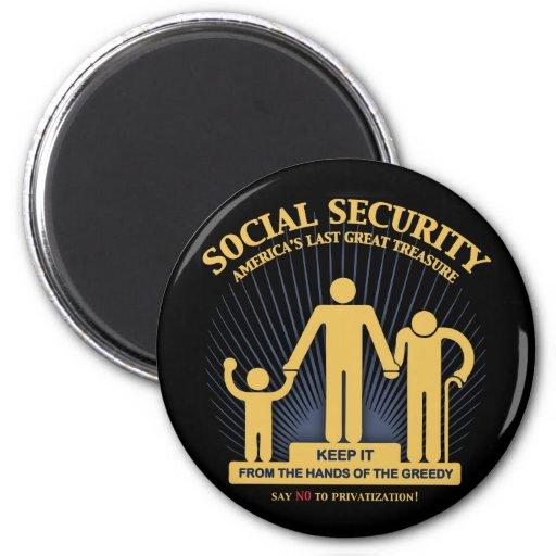 SSI-logo-TIL 2 Inch Round Magnet