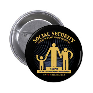 SSI-logotipo-HASTA Pin Redondo De 2 Pulgadas