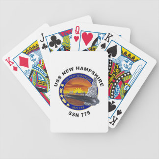 SSN 778 USS New Hampshire Bicycle Playing Cards