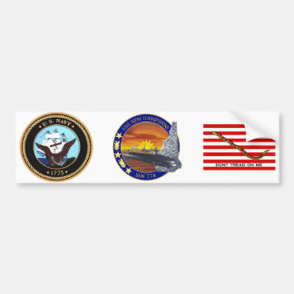 SSN 778 USS New Hampshire Bumper Sticker