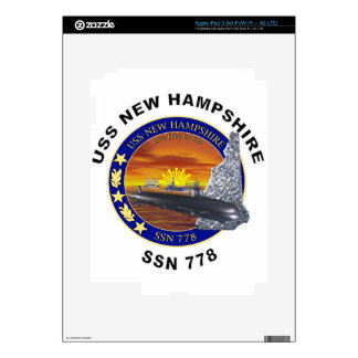 SSN 778 USS New Hampshire Decal For iPad 3